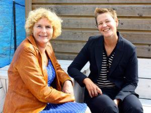 Ingrid Bakker en Petra Derlagen